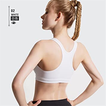 Qosow Sujetadores Deportivos para Mujer Sujetador Deportivo Running Yoga Fitness Ropa Interior Chaleco Femenino Transpirable Sudor