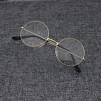 Harry Potter Retro Round Transparent Glasses Gold