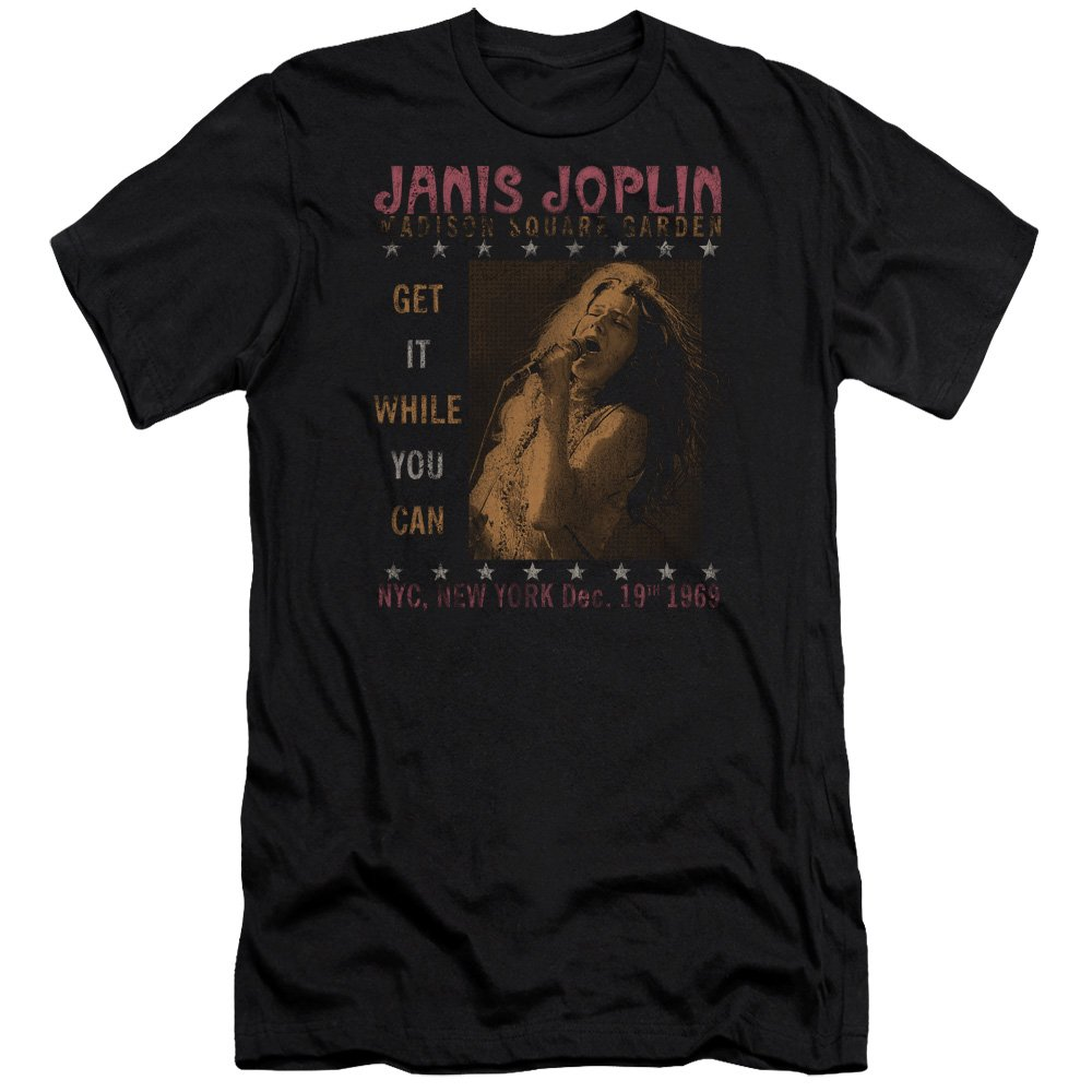 Janis Joplin One Night Only Unisex Adult Canvas Brand For And Shirts