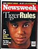 2001 6/18 Newsweek No Label newsstand Tiger Woods