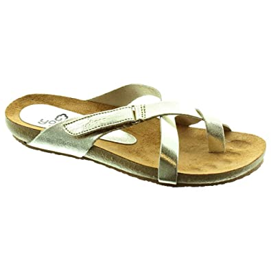 31bb32bd1 Yokono - 581 Toe Loop Sandals in Gold