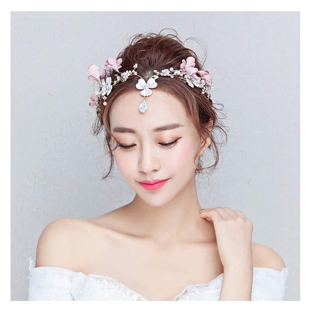 Wreath Flower Bride Flower Headdress Korean Wedding Hair Accessories Sen Head Flower Wedding Dress with Accessories
