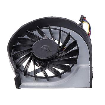 huiouer - Ventilador de refrigeración para Ordenador portátil HP Pavilion G4-2000 G6-2000 G6-2100 G6-2200 G7-2000 (4 Pines, 5 V, 0,5 A): Amazon.es: Informática