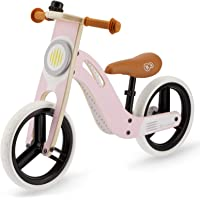 kk Kinderkraft Bicicleta sin Pedales UNIQ, Ligera, de Madera, 2+ Años, Rosa