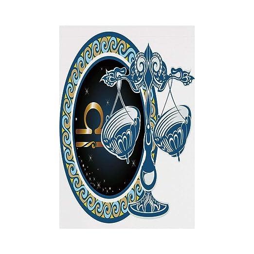 JKOVE Bandera, Zodiac Decor Historical Astronomy Icon Libra ...