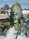 Cheap Caroline's Treasures JMK1205CHF Cactus Flowers Flag Canvas, Large, Multicolor
