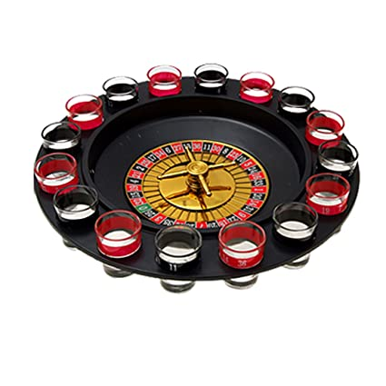 Amazon Com Lucky Drunk Spin And Shot Drinking Roulette Party Game