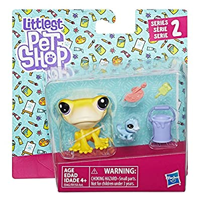 Littlest Pet Shop Iggy Frogstein & Mitzi McLizard: Toys & Games