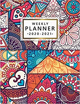 Weekly Planner 2020-2021: 2 Year Weekly & Daily View ...