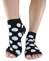 Toezies The Original 1/2 Toe Socks for Yoga/Pilates Lottie Dottie Tabi