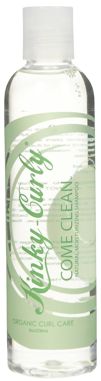 Kinky Curly Come Clean Natural Moisturizing Shampoo Sulfate Free 8 oz
