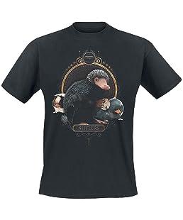 Phantastische Tierwesen Grindelwalds Verbrechen - Nifflers T-Shirt schwarz XL