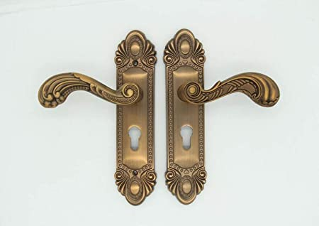 Jbhurf Factory Indoor Mute Room Door Lock Solid Wood Door Handle
