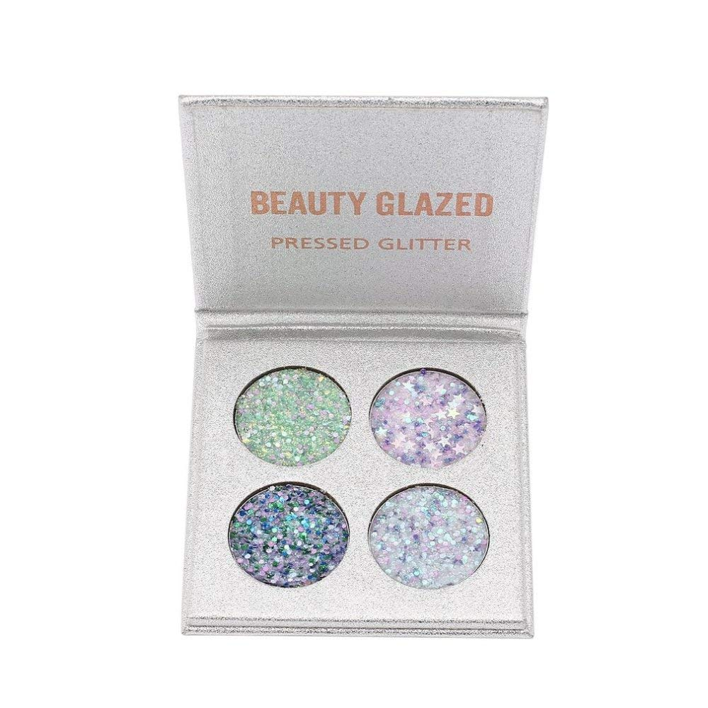 Eyeshadow Pallete Cosmetics Makeup Waterproof Natural Glitter Luminous Matte Shimmer Eye Shadow Palette Powder as picture show11
