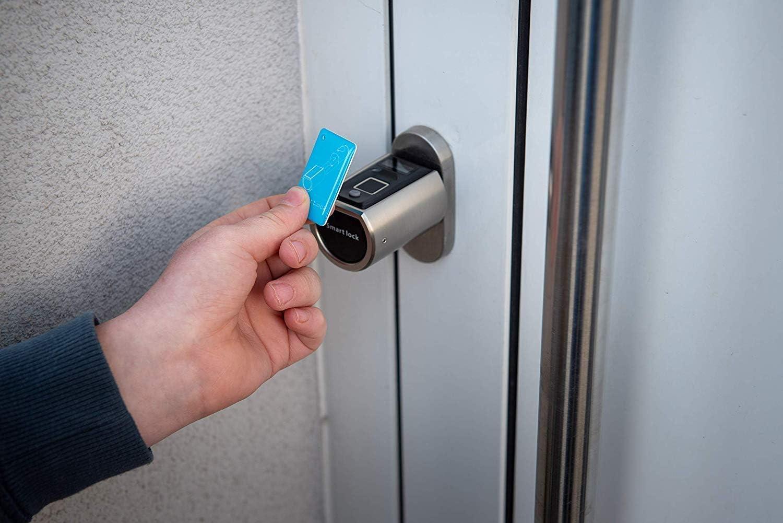 SOREX FLEX RFID Karte Zahlencode /& RFID Zylinder elektronische Zugangskarte f/ür Fingerprint