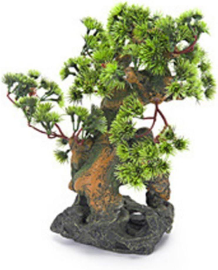 Penn-Plax Bonsai Tree on Rocks Aquarium Decor - Style 2