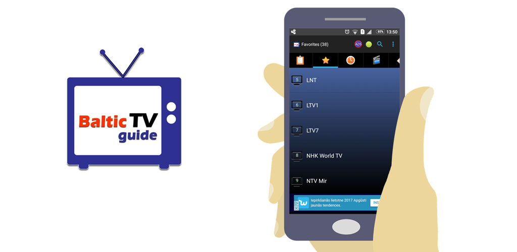 Amazon com: BalticTVGuide - TV Guide for Baltic states