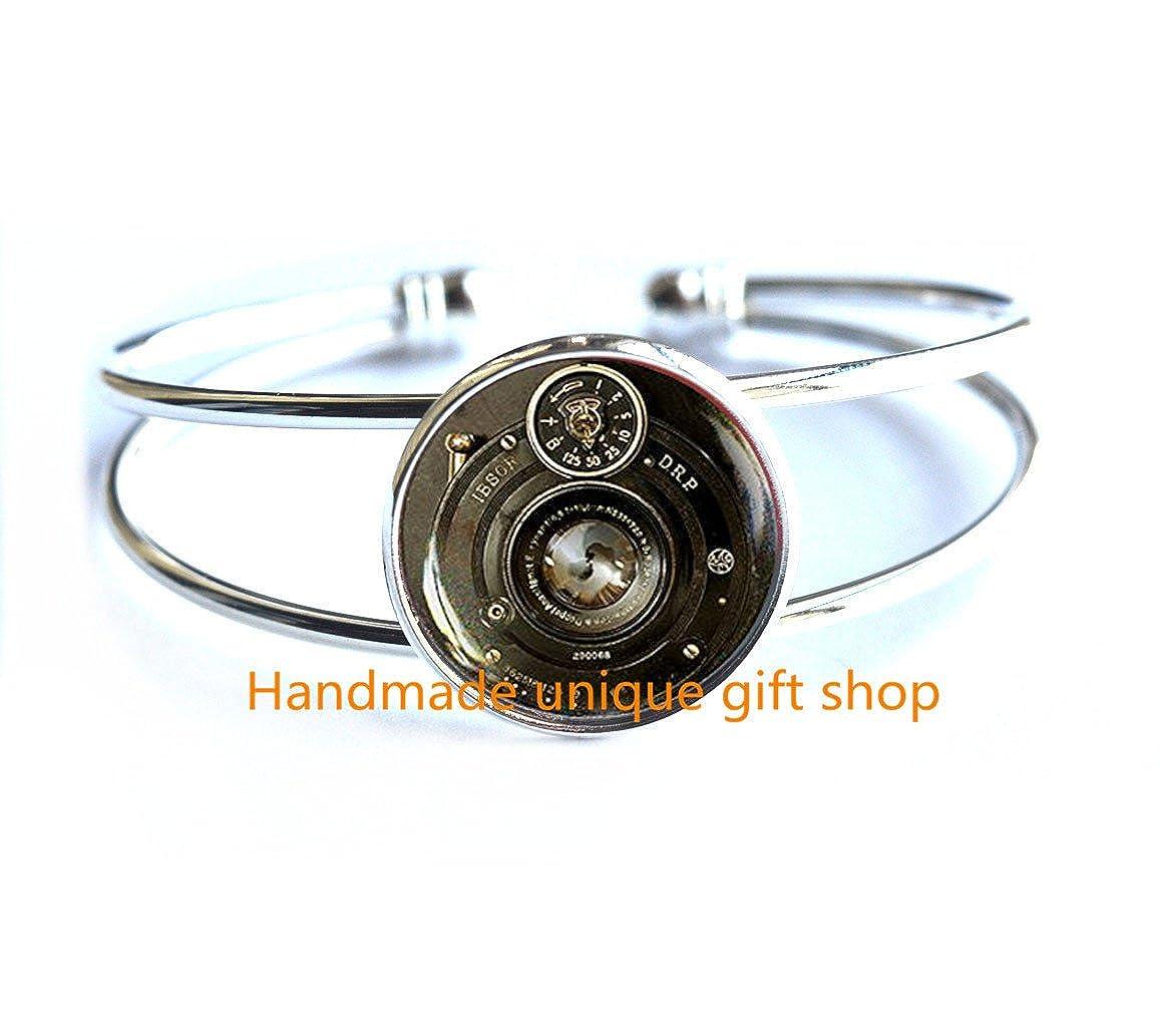 Delicate Bracelet,Fashion Bracelet,Camera Bracelet Camera Mode Jewelry for Photographers Photography Art Bracelets-RC127