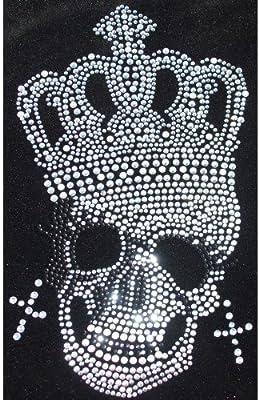 4 X hojas de fantasía del Alfabeto AB Hierro En Diamante de Imitación Diamante Camiseta Parche De Transferencia