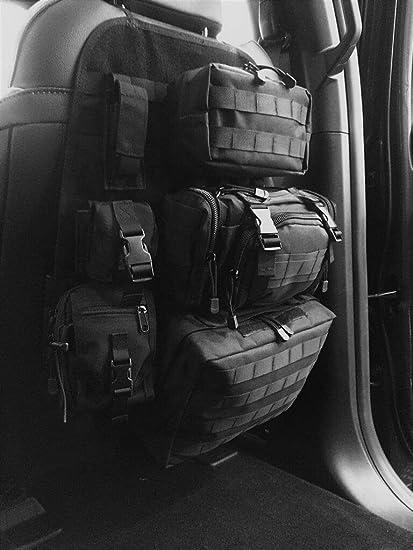 11de2e75d0 Mojave Tactical Seat Back Organizer for Car Truck SUV, Vehicle Seatback  Storage Hanger Bag Ford