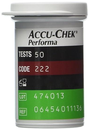 amazon com 50 accu chek performa performa nano test strips newest