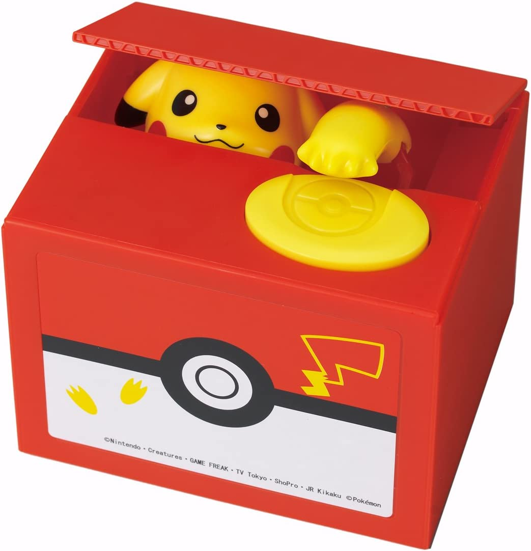 Itazura New Pokemon-Go inspired Electronic Coin Money Piggy Bank box