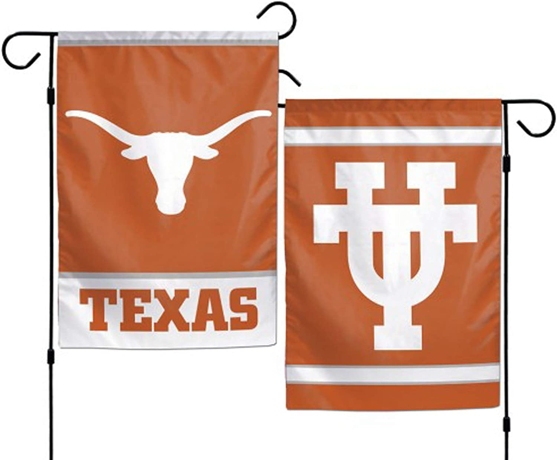 """WinCraft Texas Longhorns Polyester 12""""X18"""" 2 Sided Garden Yard Wall Flag"""