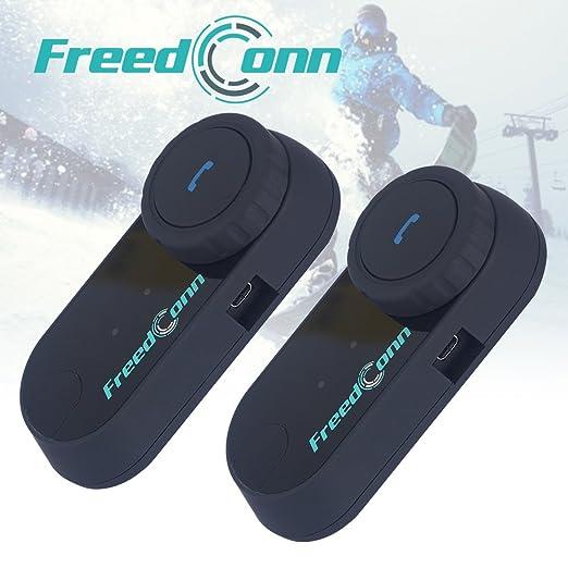2 opinioni per FDC 2 x moto BT Intercom Bluetooth Multi moto interfono casco impermeabile