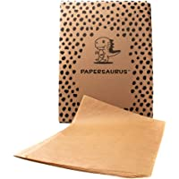 Papersaurus - Parchment Paper for Bakers - Non-Stick Precut Sheets - Food Grade - Oven Safe Sheet Pan Liner - Great for…