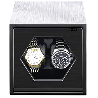 Amazon Com Critiron Watch Winder With Two Cushion Holders For