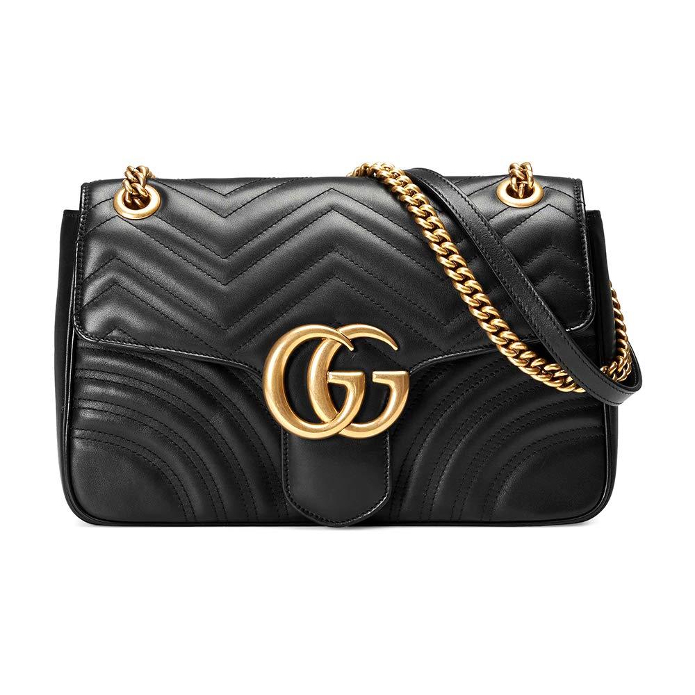 BH-Gucci GG Marmont medium matelassé shoulder bag  Handbags  Amazon.com 18629c9576