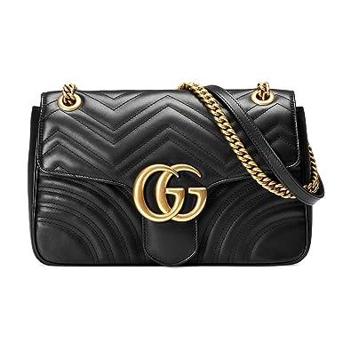 Image Unavailable. Image not available for. Color  BH-Gucci GG Marmont  medium matelassé shoulder bag 436efac556