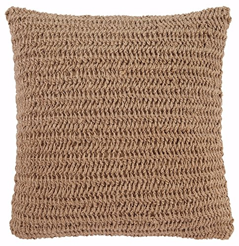 - Ashley Furniture Signature Design - Tryton Woven Decorative Throw Pillow Cover - Jute Front & Cotton Back - Traditional - Natural
