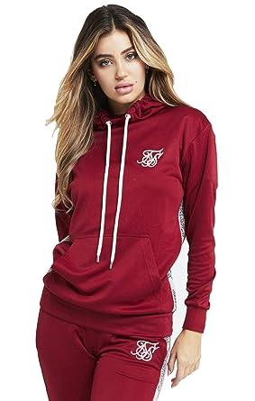 Sik Silk Camiseta Runner Crop Rojo: Amazon.es: Ropa y accesorios