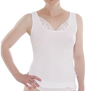 Comazo Herren Shirt - Unterhemd ohne Arm - Shirt mit V-Ausschnitt ... ad18594547