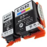 EPSON(エプソン)IC4CL82(ICBK82/ICCL82) 顔料タイプ-4色セット Bumba製互換インクカートリッジ ICチップ付き 残量表示機能付き 【1年商品保証】IC4CL82-4色PG
