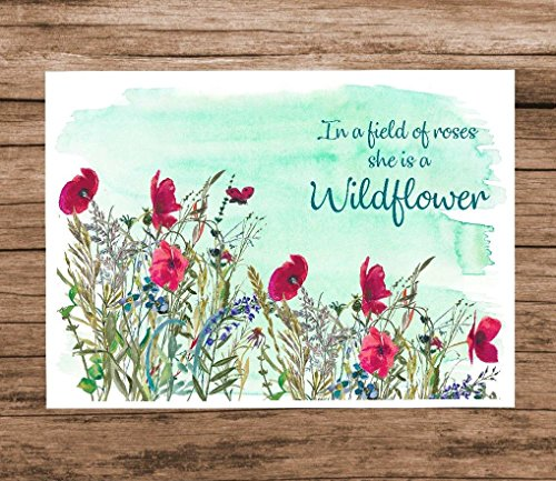 (In a Field of Roses She is a Wildflower - 8