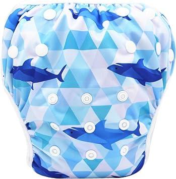 Storeofbaby Swim Diaper Reusable Adjustable Swimwear for Newborn Toddler Unisex