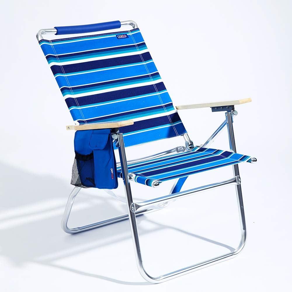 Copa Big Tycoon 4-Position Aluminum Beach Chair