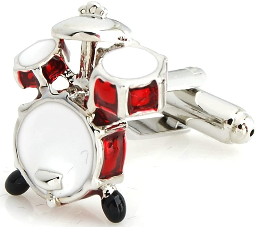 Salutto Mens Musical Instruments Series Cufflinks with Gift Box