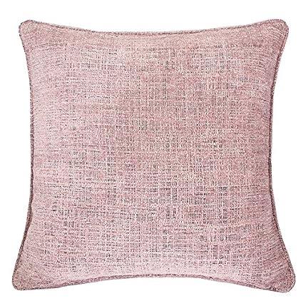Amazon.com: Homey Cozy Chenille Textured Throw Pillow Cover,Heavy ...