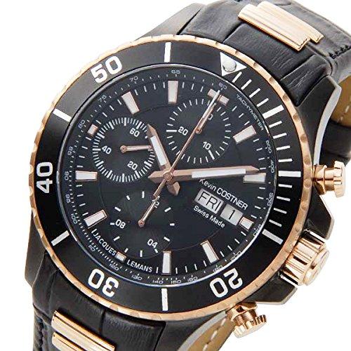 JACQUES LEMANS - Model self -winding Chronograph Watch KC-101A Black
