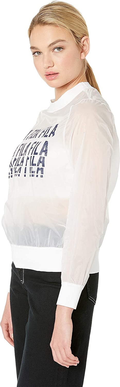 Fila Women's Sol Sheer Woven Sweatshirt at Amazon Women's