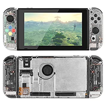 Replacement Housing for The Nintendo Switch (Clear)