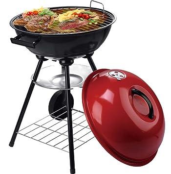 Grill BBQ Barbacoa De Carbón Cocineros Para Hasta 10 Personas Barbacoa Redonda,Red