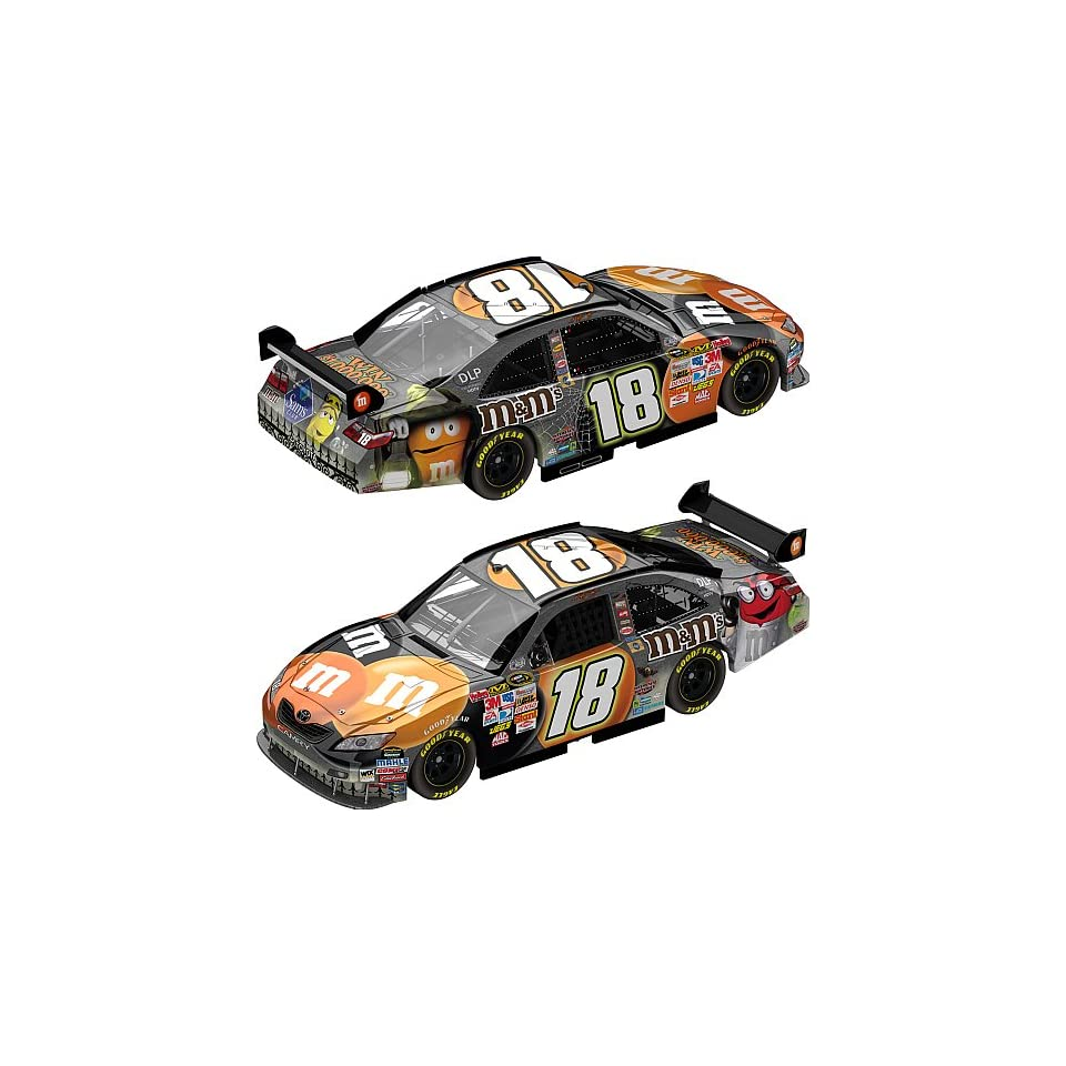 Kyle Busch #18 MMs M&Ms 2008 Halloween Toyota Camry 1/64 Scale Car Action Racing Collectables ARC