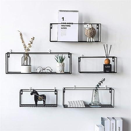 Mensola da parete metallo mobile da corridoio portaoggetti a