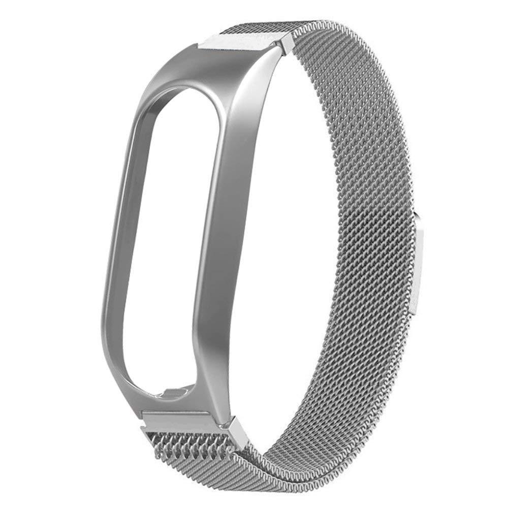 JesseBro76 Estuche de Metal Correa de Repuesto magnética de Milán Accesorios Tomtom Touch Silver: Amazon.es: Hogar