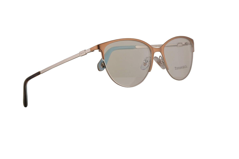 89ce181b368 Amazon.com  Tiffany   Co. TF1127 Eyeglasses 54-16-140 Light Brown Silver  w Demo Clear Lens 6123 TF 1127  Clothing