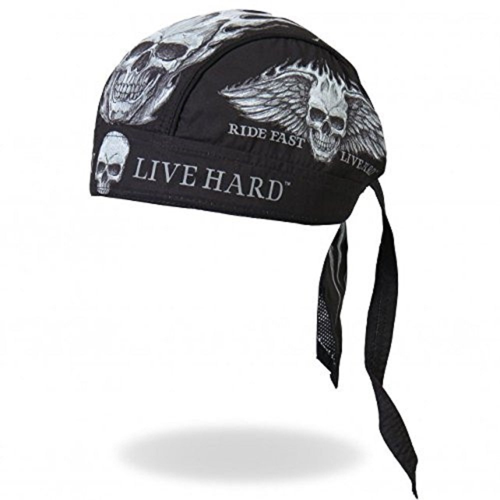 Officially Licensed /& Trademarked Products Authentic Bikers Premium Headwraps Micro-Fiber /& Mesh Lining HEADWRAP